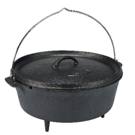 Bon-Fire Dutch er en solid og praktisk bålgryde i støbejern.
